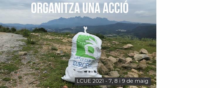 Últim dia per inscriure's al Let's Clean Up Europe 2021!