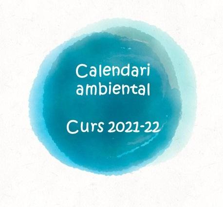 Calendari d'efemèrides ambientals per a planificar el proper curs