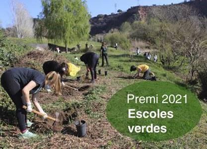 Inici del curs 2021-22: Convocatòria del Premi Escoles Verdes 2021