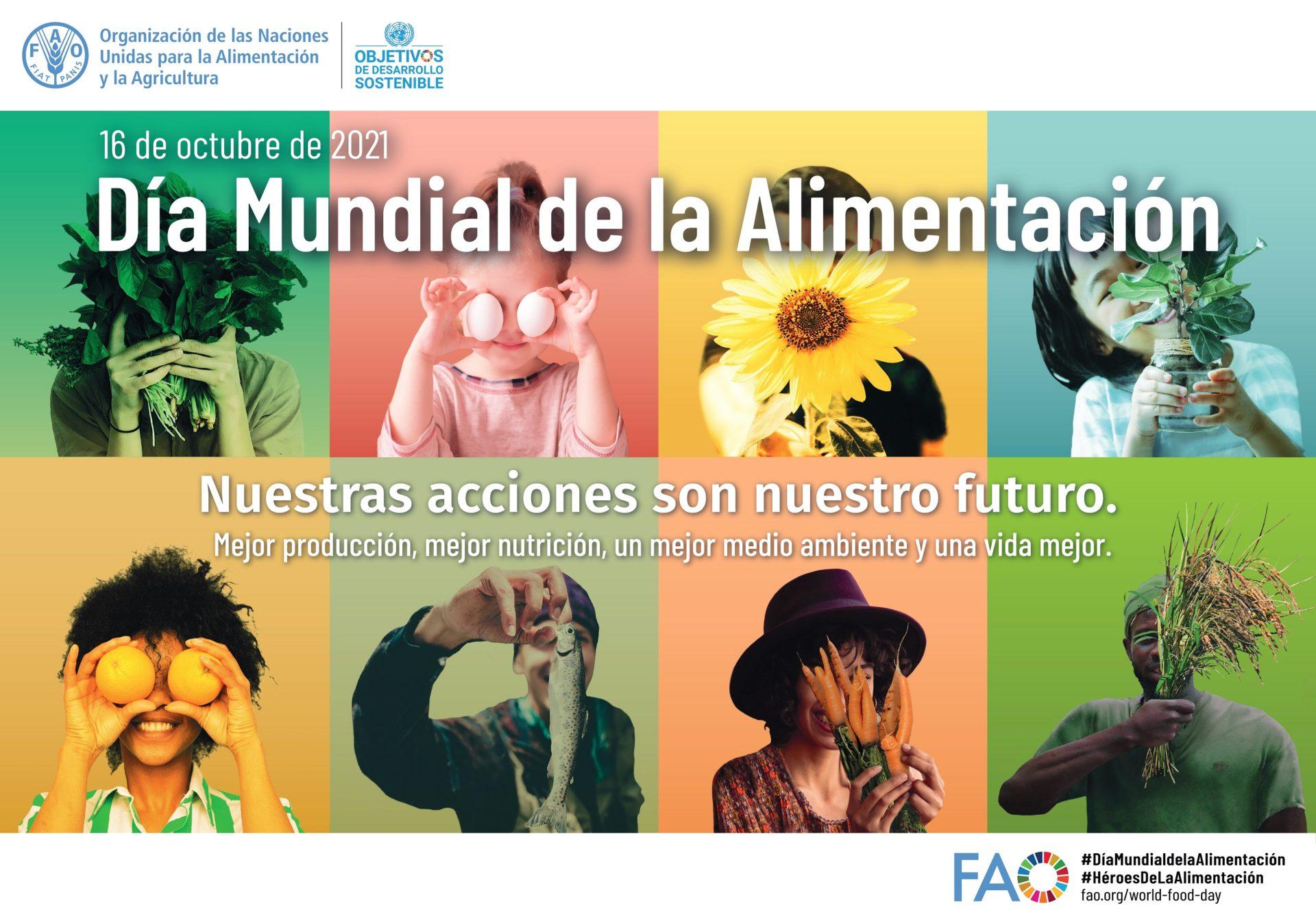 16 octubre: DIA MUNDIAL DE L'ALIMENTACIÓ